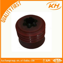 top and bottom cementing plug