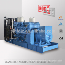 1000kw Germany MTU engine electric power generator 60HZ 1000KW MTU engine generator set price