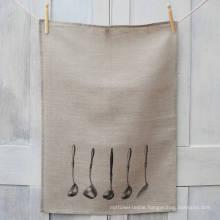 hight quality no bleach print custom pattern kitchen towel tea towel TT-021