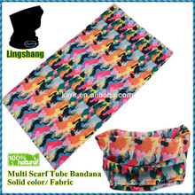 Sports headband Printed scarf wholesale tubular cap tube seamless bandana