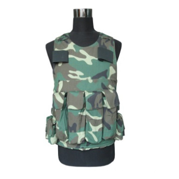 Tactical Type 8 Military Equipment 2 Grade Protection Soft Bulletproof Vest