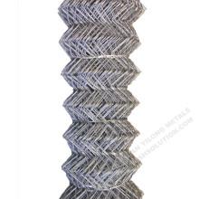 Malla de alambre galvanizada del diamante de la cerca de la alambrada