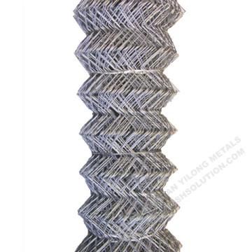 Verzinkter Maschendrahtzaun Diamantdrahtgeflecht