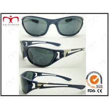 Venda quente ocultado-out óculos de sol esportivos de plástico (lx9852)