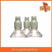 Novos produtos quentes para 2015 etiqueta de embalagem barata de PVC para água mineral