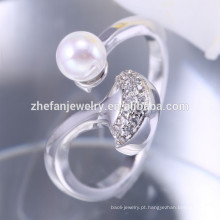 ZheFan atacado nova 925 anel de prata base 925 anel de prata