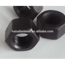 DIN 934 Black Hex Nut M10,Black Oixed Plate