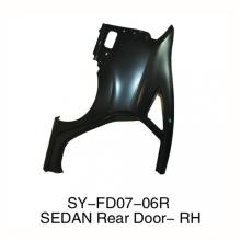 FORD NEW Fiesta 2009- Rear Fender