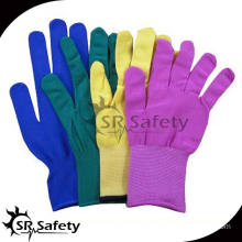 SRSAFETY 13 gauge colors for nylon/polyester glove liner wholesales