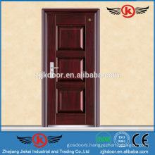 JK-F9057 solid timber wood fireproof door fire escape door