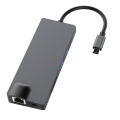 USB Hub 3.0 C para HDMI VGA Power