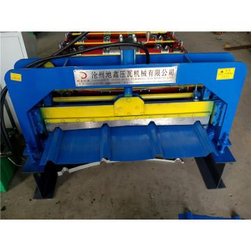Máquina formadora de laminação a frio de chapa de aço colorida para telhas de aço galvanizado corrugado