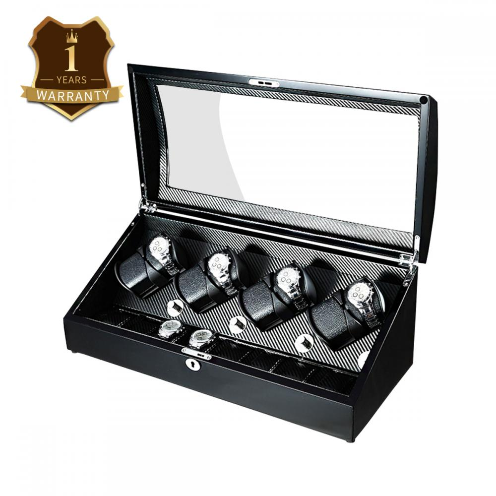 black finish watch box