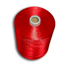 Fio de filamento de rayão de viscose para confecção de malhas