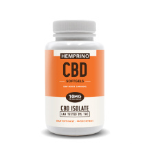 Dr. Formulated CBD Whole Hemp Extract with Entourage Effect Blend 10mg - THC Free (30 Softgels)