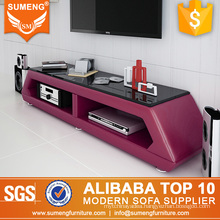 High quality Leather used unique TV Stands