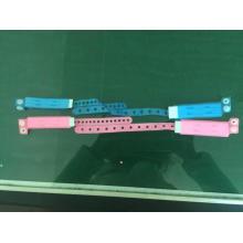 Bracelet d'identification à bande d'identification jetable