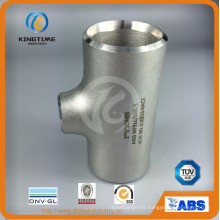 Acero inoxidable 304/316 Butt Weld Fittings Ss Equal Tee (KT0348)