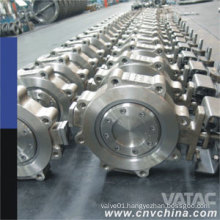 Cast Steel Wafer Type Butterfly Valve
