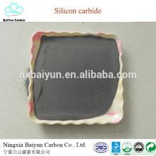 Высокой чистоты черный/зеленый карбид кремния для огнеупорных и абразивных