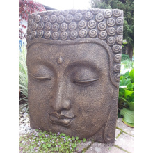 Escultura da parede do relevo de Buddha do bronze religioso indiano do estilo