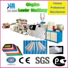 Máquina de extrusão de folha de espuma livre de PVC de boa qualidade