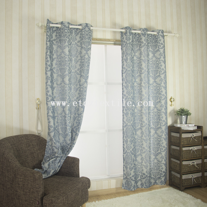 Casual curtain with the look of linen 6003-2