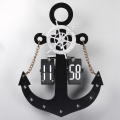 Anchor Flip Clock Para Decor