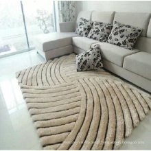 Vente en gros 3D Elastic Filament Yarn 300d Carré de soie brillant