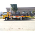 ISUZU 5T tow truck under lift wrecker truck