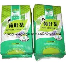 Side Gusset chá plástico saco / vácuo chá embalagem saco / bolsa de chá