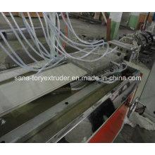 Панель потолка PVC делая машину линия Штранг-прессования профиля