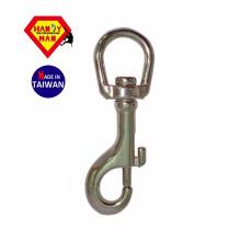 Gancho de pressão de aço inoxidável 225S de aço inoxidável 316