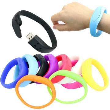 Custom Wristband USB Flash Memory Stick Silicone Bracelet