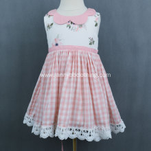 High Quality Girl's Fashionable Plaid Dress