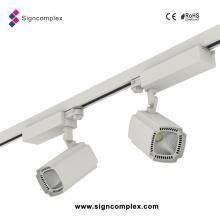 Shenzhen CRI80/CRI90 Citizen COB 35W 50W LED Track Light with Ce RoHS