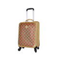 Gouden 3D-patroon mode high-end bagage