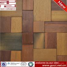 Produto quente do projeto misturou a telha de mosaico da madeira contínua para a porta