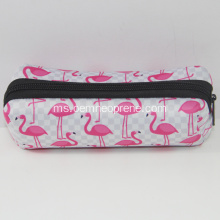 Bergaya Flamingo Custom Neoprene Pensil Bags
