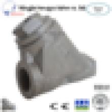 Carbon Steel SS304 Mesh Thread End Y STRAINER