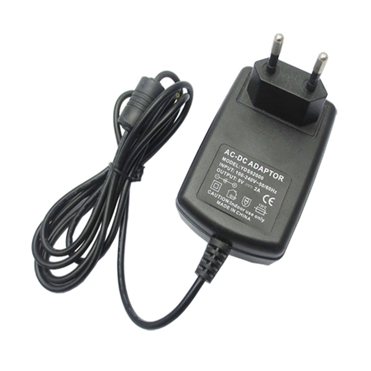 9v wall charger wall mount adapter