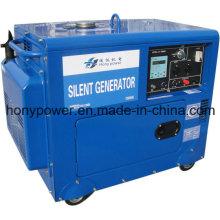 Generador silencioso diesel refrescado aire 2-10kw ¡El mejor precio!