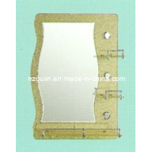 5mm Thickness Silver Glass Bathroom Mirror (81002)