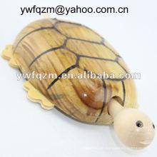 Kunst Köpfe Holz Handwerk Schildkröte für die Dekoration