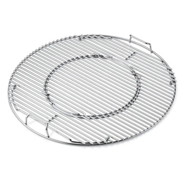 Barbecue Net Non-stick BBQ Portable Iron Non-Stick BBQ Rack Barbecue Mesh Grill Net for Outdoor BBQ Party