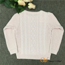 100% Cotton Latest Teens Knitted Winter Sweater