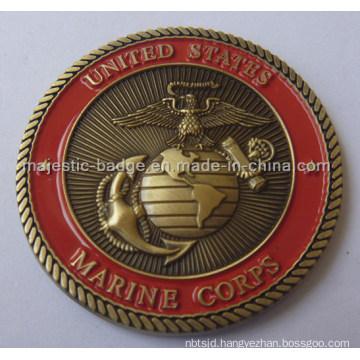 Customized Marine Corps Coin