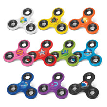 Hot Selling Trending Ultimate Spin Stress Relief Autism Cube Aluminum Alloy High Speed Fingertips Ceramic Bearings Finger Toy Plastic EDC Hand Tri-Spinner