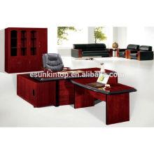 Conjuntos de móveis de escritório para venda, Uma mesa principal, uma mesa lateral, uma pequena mesa mais (T2040)