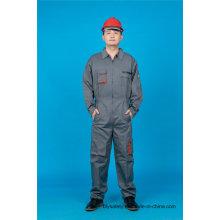 65 % Polyester 35 % Baumwolle Langarm Sicherheit Uniform gebrauchte Kleidung (BLY2007)